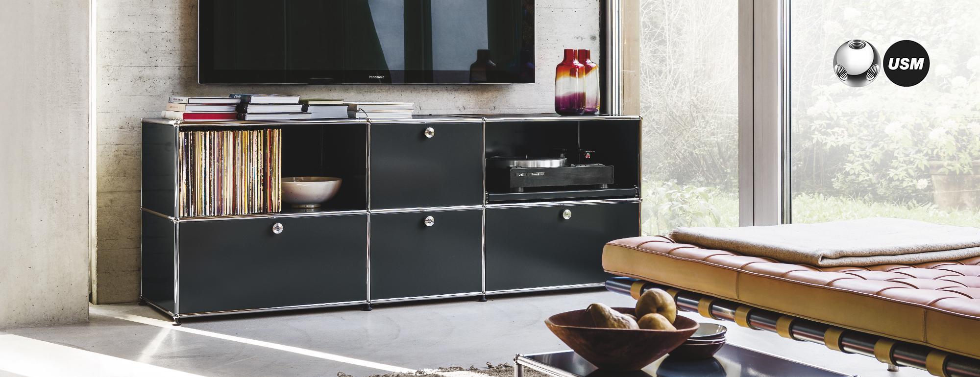 USM Möbel bei WOHN DESIGN konfigurieren