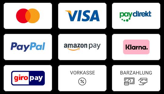 Informieren Sie sich über Ihre Zahlungsmethoden