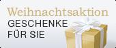 Weihnachtsaktion: GRATIS Geschenke für Sie