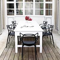 Ein Outdoorstuhl zum Verlieben vom italienischen Hersteller Kartell.
